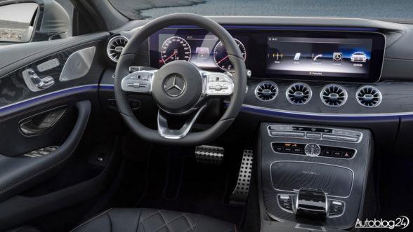 Mercedes CLS 2018 - wnętrze