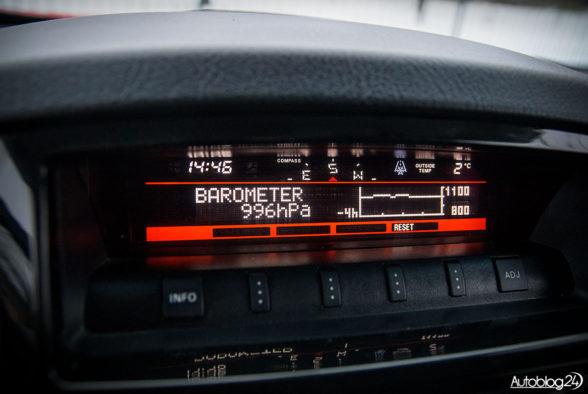 Mitsubishi Pajero - wnętrze - 10