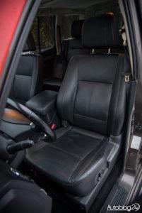 Mitsubishi Pajero - wnętrze - 13