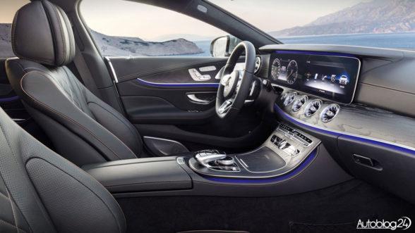 Nowy Mercedes CLS - wnętrze