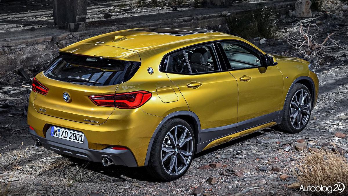 BMW X2 - cena i dane techniczne nowego małego SUV'a ...