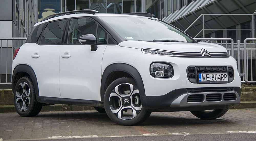 citroen c3 aircross 1 2 puretech 110 km shine miejski suv. Black Bedroom Furniture Sets. Home Design Ideas