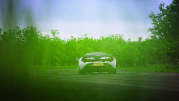 McLaren 720S na torze The Grand Tour