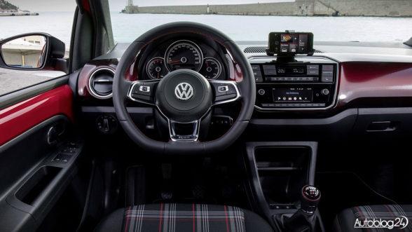 Volkswagen up! GTI - wnętrze