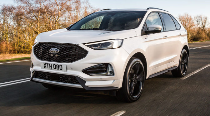 Ford Edge (2018) - lifting wprowadza sporo zmian. Zdjęcia i pierwsze informacje
