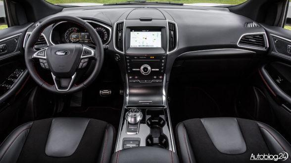 Ford Edge 2018 - wnętrze