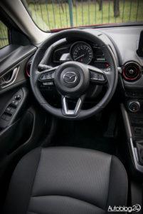 Mazda CX-3 - wnętrze - 02