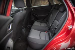 Mazda CX-3 - wnętrze - 13
