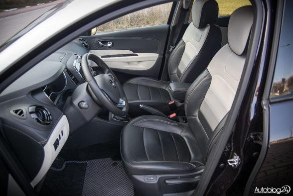 Renault Captur - wnętrze - 11