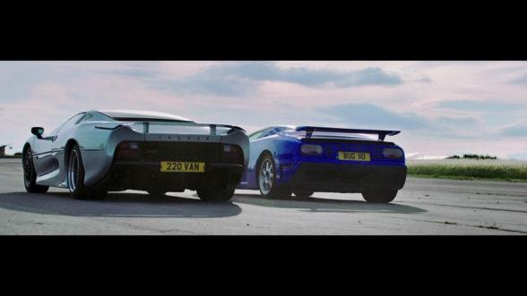 The Grand Tour - Bugatti vs Jaguar