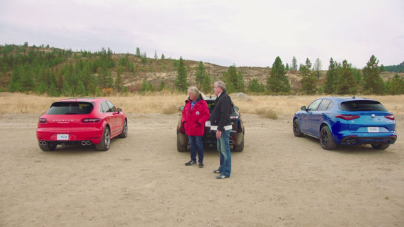 The Grand Tour - test SUV