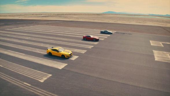 Top Gear V8 - drag race