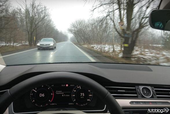 Volkswagen Passat - jazda