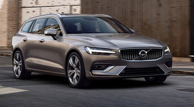 Volvo V60 (2018) - informacje i zdjęcia nowego kombi Szwedów