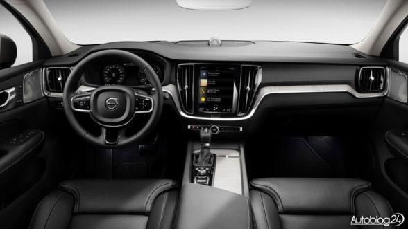 Volvo V60 2018 - wnętrze