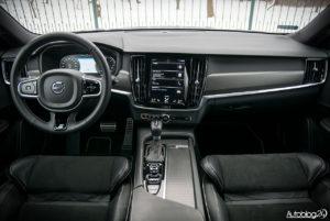 Volvo V90 - wnętrze - 01