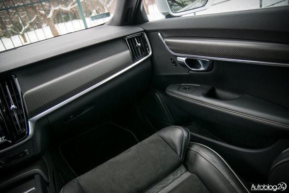 Volvo V90 - wnętrze - 04
