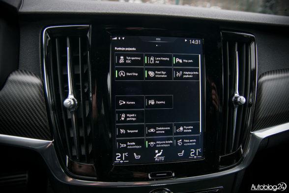 Volvo V90 - wnętrze - 10