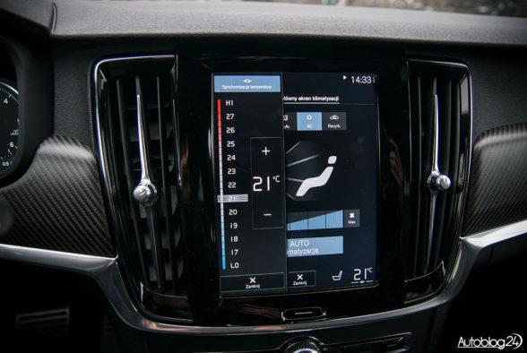 Volvo V90 - wnętrze - 12