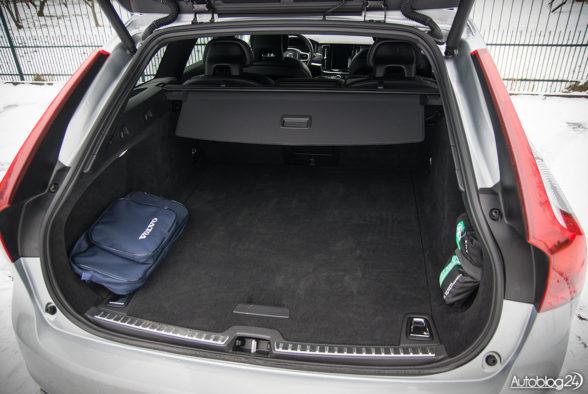 Volvo V90 - wnętrze - 19