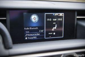 Lexus RC F - wnętrze - 10