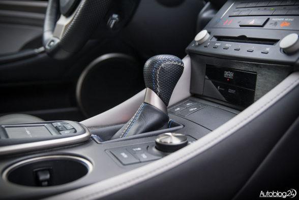 Lexus RC F - wnętrze - 12