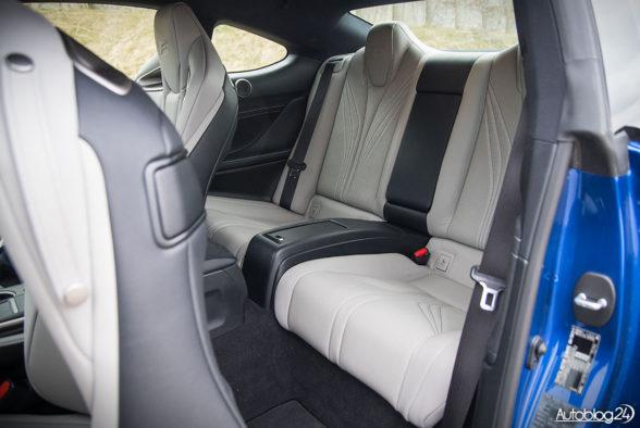 Lexus RC F - wnętrze - 16