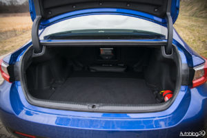 Lexus RC F - wnętrze - 19