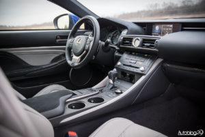Lexus RC F - wnętrze - 20