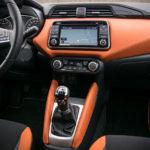 Nissan Micra - wnętrze - 04
