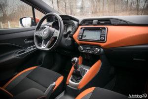 Nissan Micra - wnętrze - 15