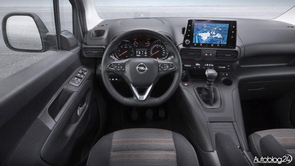 Opel Combo Life 2018 - wnętrze