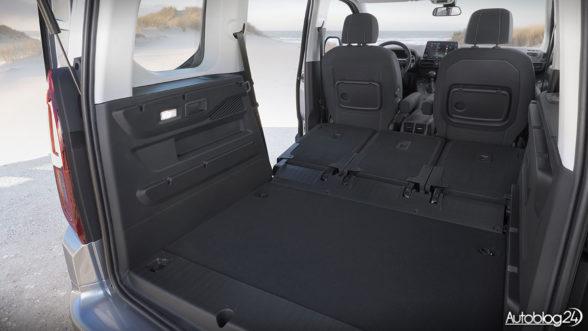 Opel Combo Life - bagażnik