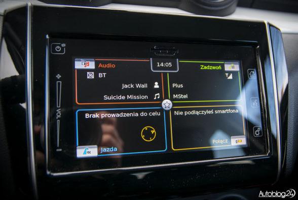 Suzuki Swift - wnętrze - 08