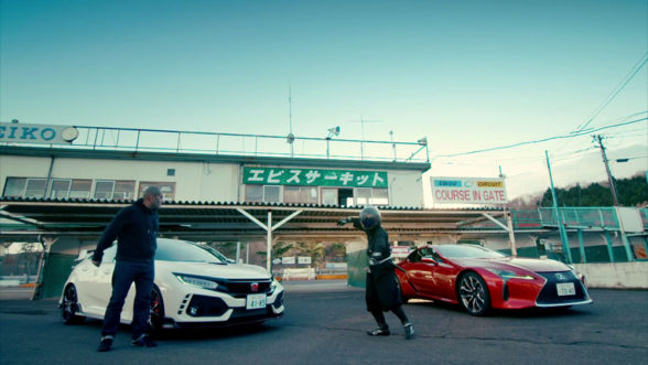 Top Gear - Lexus i Honda
