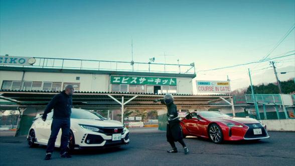 Top Gear - Lexus i Honda