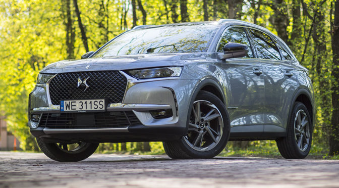 DS7 Crossback 2.0 BlueHDi 180 KM Grand Chic - TEST