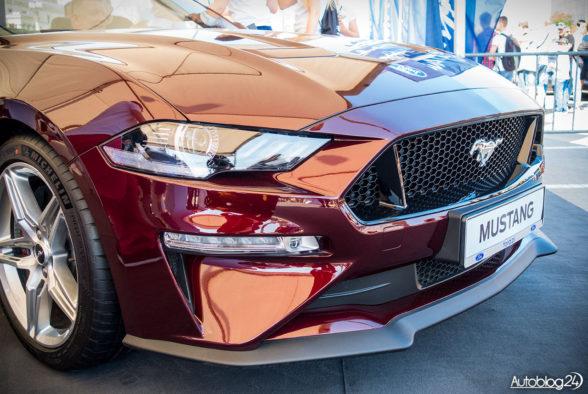 Ford Mustang 2018 - lifting