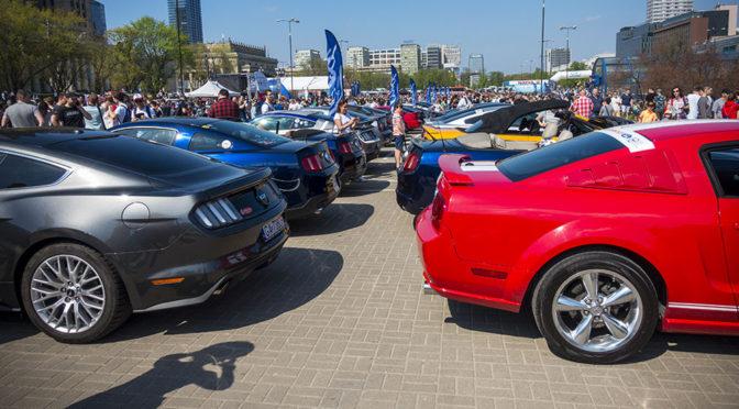 Nowy Ford Mustang i X zlot fanów tego modelu w Polsce – zdjęcia