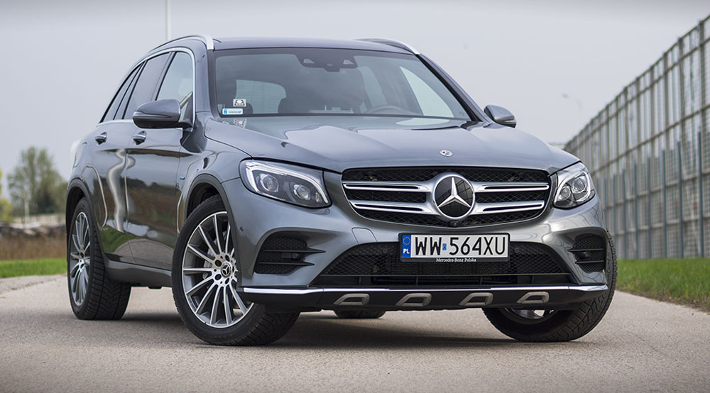 Mercedes GLC 350e 4MATIC. Hybryda plug-in na bogato - TEST