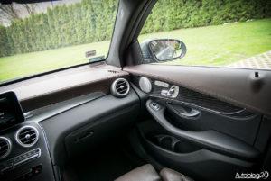 Mercedes GLC 350e - wnętrze - 03