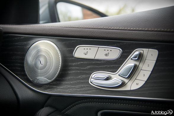 Mercedes GLC 350e - wnętrze - 12