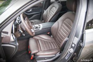 Mercedes GLC 350e - wnętrze - 13