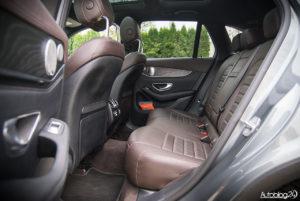 Mercedes GLC 350e - wnętrze - 14