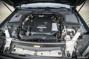 Mercedes GLC 350e - wnętrze - 16