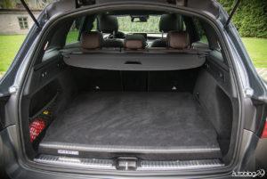 Mercedes GLC 350e - wnętrze - 17