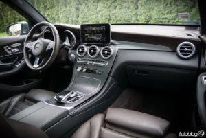 Mercedes GLC 350e - wnętrze - 19