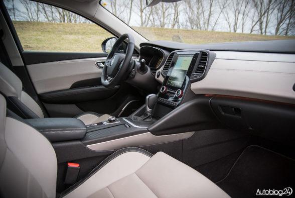 Renault Talisman - wnętrze - 18