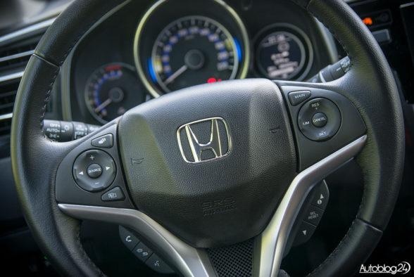 Honda Jazz - wnętrze - 04