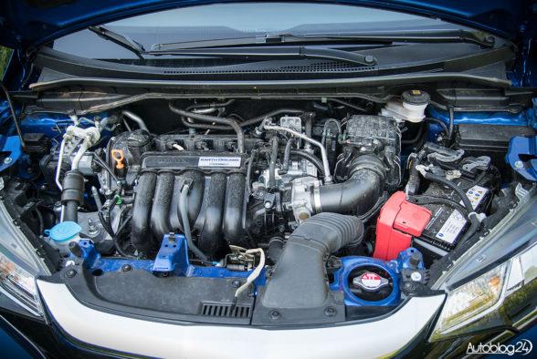 Honda Jazz - wnętrze - 12